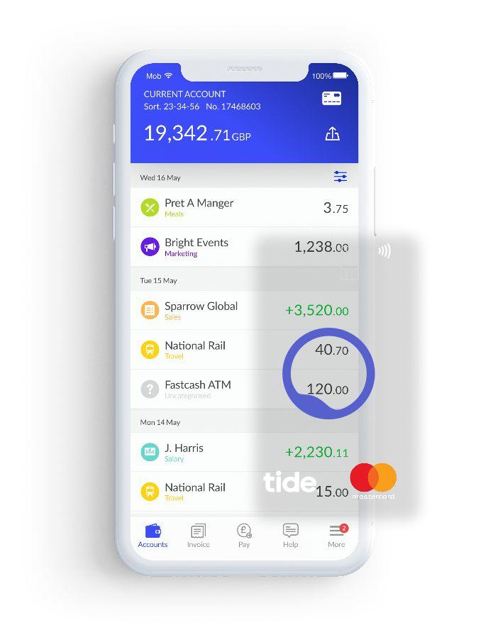 tide business banking app